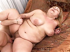 BBW mature takes a hard one in as numerous positions as possible