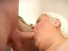 Careless fat girl having sex fun