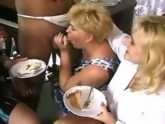 Lustful fat matures enjoy sex party