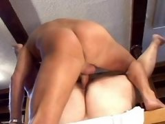 Dude riding alluring bbw vixen