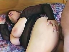 Yummy bbw gets nastily pounded