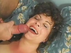 Appetizing fat bitch gets filled