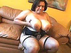 Lustful mature BBW fucked by man