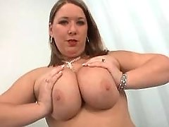 Teen fatty with big tit seduces man
